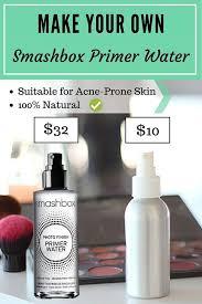 diy make your own smashbox primer water makeup spraymakeup setting