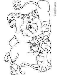 Safari Coloring Pages Safari Coloring Page 3 Safari Animals Coloring