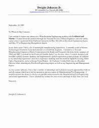 Engineering Internship Cover Letter Inspirational Engineering Cover