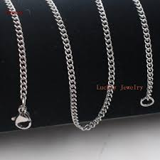 lot a dozen of 12pcs silver fashion 4mm smooth chain snless steel necklace 18 32 whole in bulk jewelry