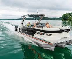 7 Stunning Luxury Pontoon Boats For 2020 Outdoors Com