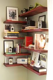 Living Room Shelves Design 17 Best Ideas About Diy Corner Shelf On Pinterest Corner Shelves
