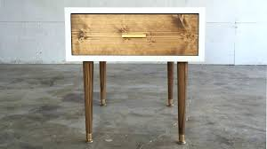 diy living room end tables modern coffee tables mid century modern end table builds furniture iron