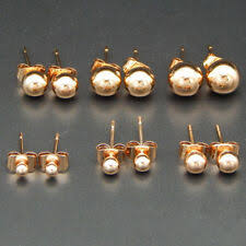 <b>Rose Gold</b> Plated Gold <b>Fashion</b> Earrings for sale | eBay