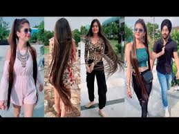Most Beautiful <b>Girl</b> on Tik Tok With <b>Long Hair</b>     - YouTube