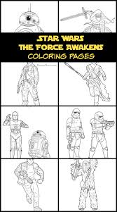Star Wars The Force Awakens Coloring Pages And Activities The