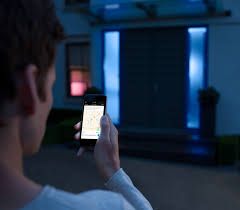 control lighting with iphone. philips launches new lighting system that iphone users can control with siriu0027s help hue optional wireless wall dimmer remote u2013 inhabitat green iphone h