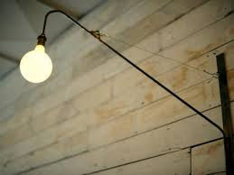 swing arm light. Swing Arm Light