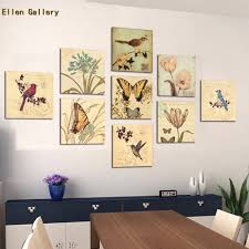 Painting Wall For Living Room 9 Piece Animal Wall Art Canvas Painting Wall Pictures For Living