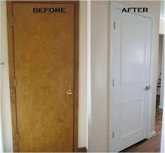 painting doors white doors painting old brown doors white