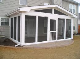 custom pool enclosure hexagon shape. Gable Screen Room Custom Pool Enclosure Hexagon Shape N