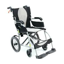 ergo lite ultra lightweight transport wheelchair chair with removable arms inch lightweight transport chair