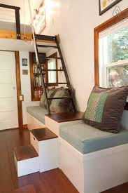 tiny house loft ladder. Loft Stairs · Check Out This Awesome Listing On Airbnb: Tiny House Guemes Island, WA. Ladder W