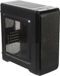 <b>Корпус Accord A-SMB</b> черный без БП mATX 5x120mm 2xUSB2.0 ...