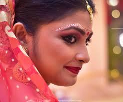 bengali bridal makeup art