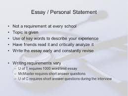 applying to canadian medical schools howard meng university of  11 essay personal