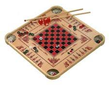 Game With Wooden Sticks Wooden Carrom Board 100 X 100 Inch Strike and Pocket Game With Cue 36