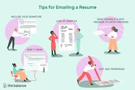 How To Email A Resume To An Employer Adorable How To Send Resume In Email