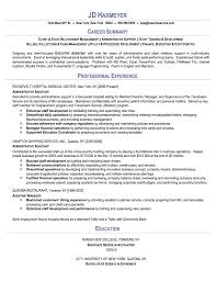 Administrative Assistant Sample Resume Sample Resumes Net EDSXBIHq Mesmerizing Administrative Assistant Resume Examples