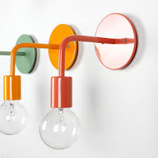 one forty three lighting. One Forty Three Salmon Pink Wall Sconce For Kids Bathroom Lighting
