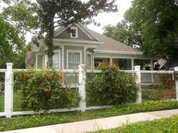 white fence ideas. Image Of: Front Yard Fence Ideas Plant White S