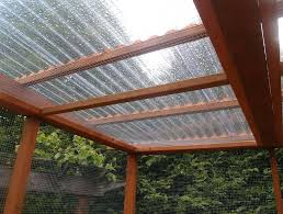 corrugated plastic roof panels roofing