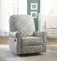 glider recliner with ottoman nursery recliner chair swivel glider chair reclining wingback chair black glider rocker