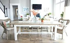farmhouse dining table with bench seating farmhouse table and bench farmhouse dining table with