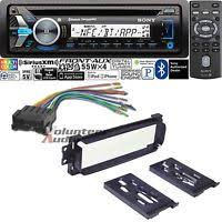 sony car stereo radio bluetooth cd player dash install mount kit sony car stereo radio bluetooth cd player dash install mount kit harness antenna