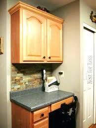 uneven kitchen cabinets with crown molding cabinet installation