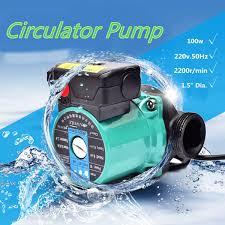 <b>100W 220V</b> Indoor <b>Hot</b> Water Air Heating Circulator Boiler Pump ...