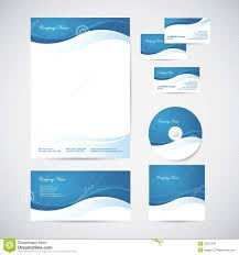 Corporate Visiting Card Design Vector Free Download Corporate Identity Stock Vector Illustration Of Elegance