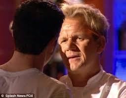 gordon ramsay finally meets his match as ex marine challenges him