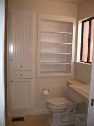 Bathroom : Rustic Bathroom Vanities Recessed Shelves In Bathroom ...