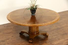 interior design for henredon coffee table of round 5 4 vintage banded table