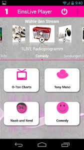 O Ton Charts 1 Live Amazon Com Einslive Radio Player Appstore For Android