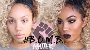 black owned makeup brands matter full face makeup tutorial