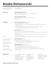 How To Type A Resume Gorgeous Type Of Resumes Bold Type Resume Prole I Am A Resourceful Self