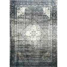 blue grey silver area rug gray heinen indoor outdoor