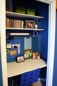 stylish home office computer room. Stylish Blue Office Room With Closet Ideas Home Computer