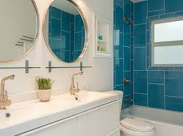 mid century modern bathroom tile. 40 Retro Blue Bathroom Tile Ideas And Pictures. Vintage Bathroom. Warm Beautiful 1962 Mid Century Modern