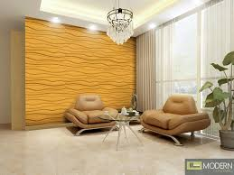 more views on modern 3d wall art with breeze textured high grade polymer glue on wall 3d tiles