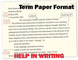 term paper format term paper format writing help