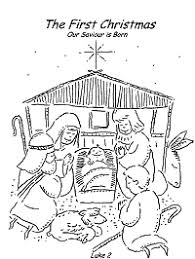 Then click on it to download the full. Christmas Coloring Pages Bible Religious And Printable Activities