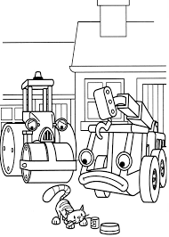 Small Picture Lofty and Roley Watch Bob the Builder Pet Play Coloring Page