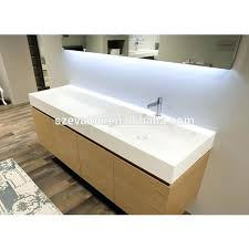 all in one sink and countertop acrylic one piece bathroom sink and bathroom cabinet wash basin