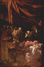 of the virgin painting by caravaggio