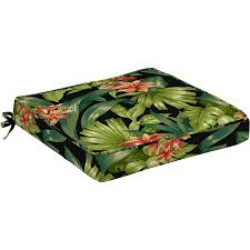 better homes and gardens outdoor cushions. Better Homes And Gardens Dining Seat Outdoor Cushion, Set Of 2, Black Tropical Hibiscus Cushions I