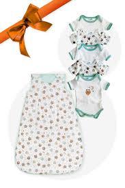 Baby Geschenk Set Erstausstattungs Paket Eulen