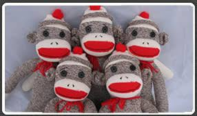 Sock Monkey Pattern Gorgeous Vintage Sock Monkey Sock Monkey